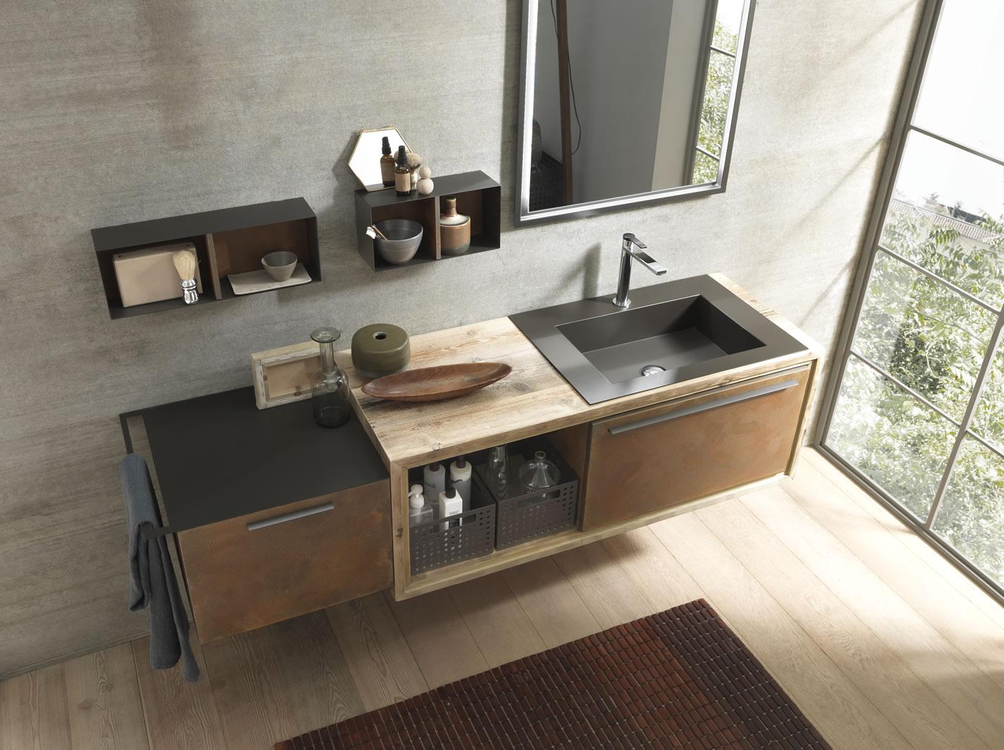 Bagni moderni piastrellando for 2 piani letto 2 bagni
